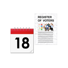 Registering to vote, Government changes