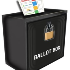 What happens next, ballot box