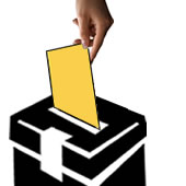 into-ballot-box